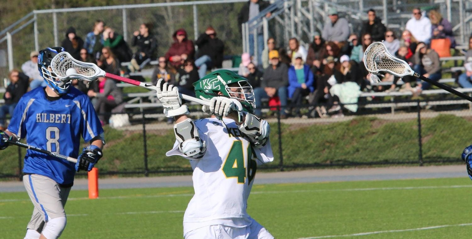 Seth Spurgeon (46) scored 2 goals and won 16 faceoffs for the Wolves -- Photo by Ed Webber