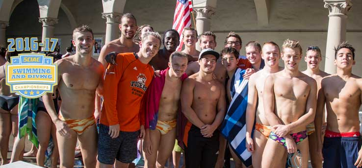 Oxy Swim Teams Open Competition at SCIAC Meet