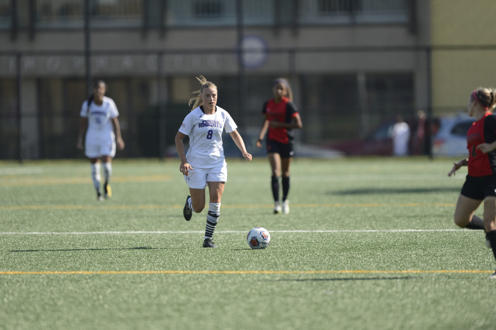 Offense Clicks on All Cylinders As UB Women's Soccer Tops Jefferson, 3-0