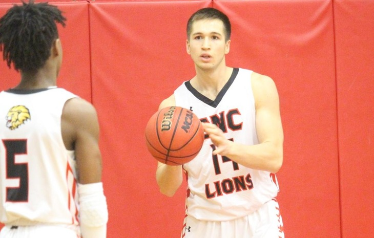 Men's Hoops Downed by League-Leading New England College