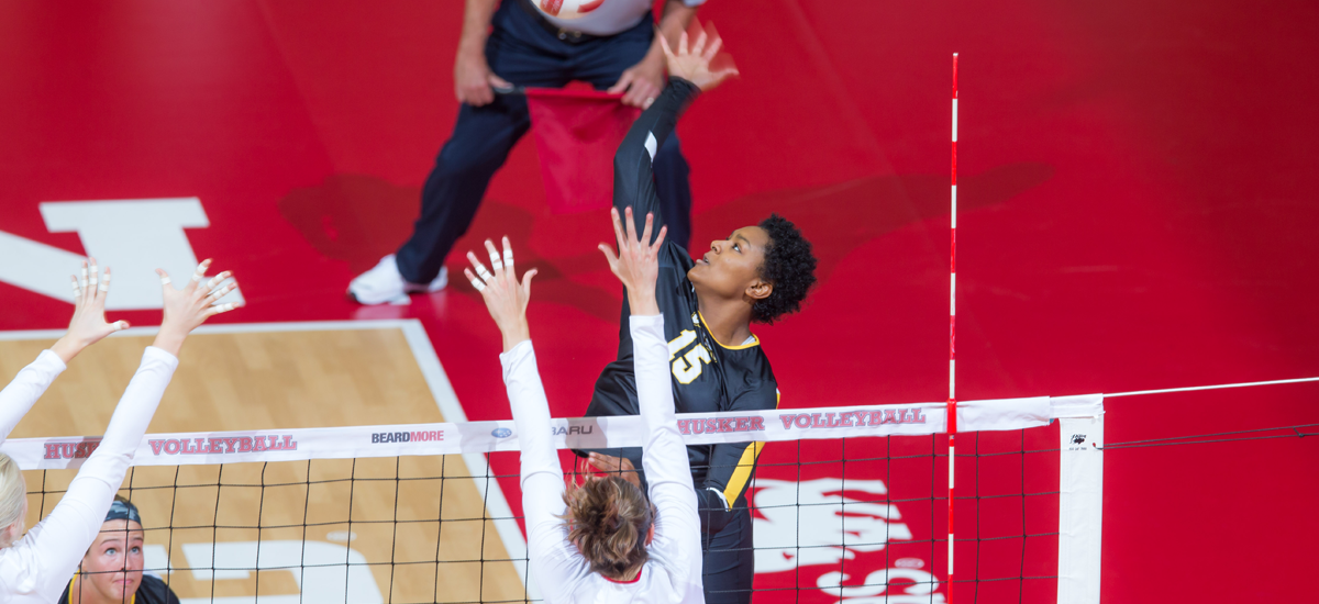 Freeman's Career Day Leads Volleyball to Split in D.C.