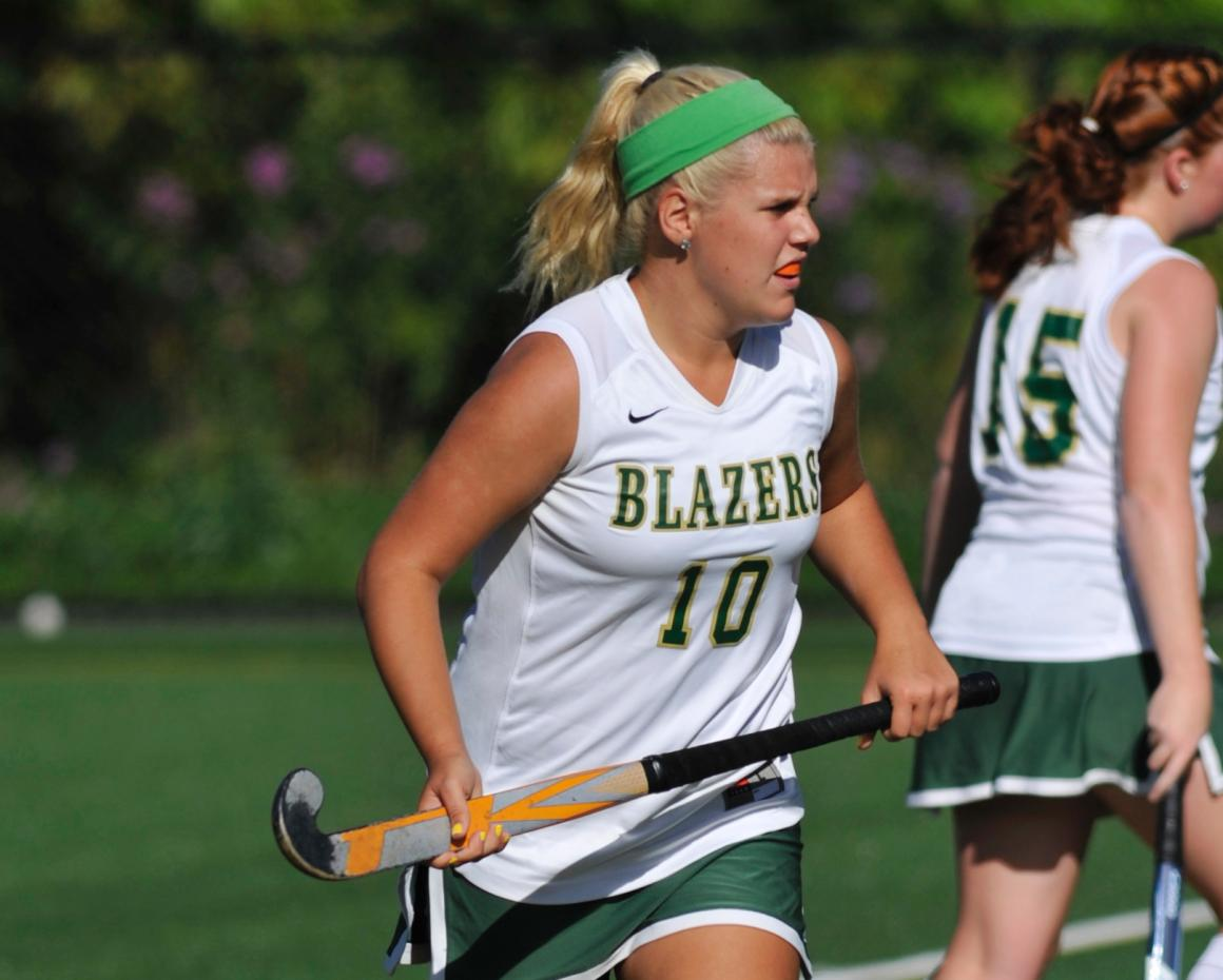Three First Half Scorers Powers Field Hockey Past Wheelock College, 4-1