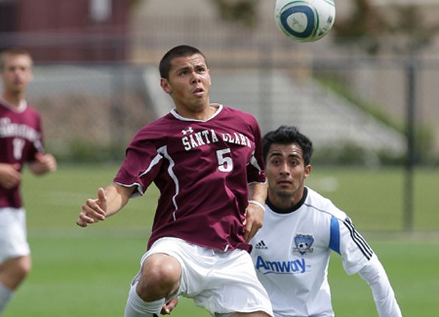 Photos From SCU's Exhibition Match With SJ Earthquakes