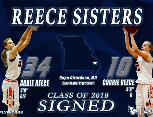 Westminster Women's Basketball Adds Reece Twins to 18-19 Roster