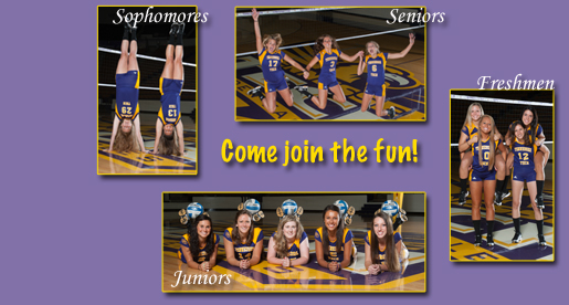 Golden Eagle volleyball to wrap-up preseason with Purple and Gold Scrimmage