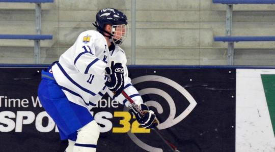 Lake Forest completes series sweep of Men's Hockey