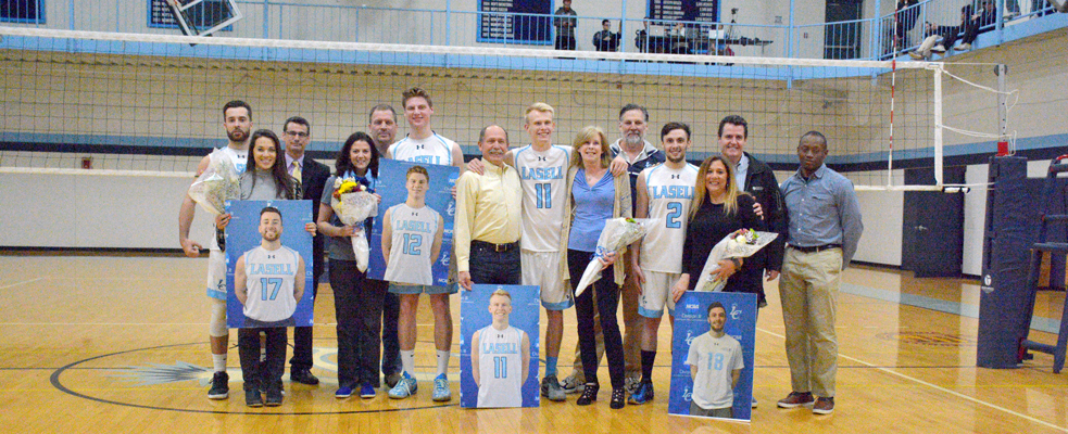 Seniors Lead No. 11 Men's Volleyball to Winningest Season with 3-0 Victory over Ida