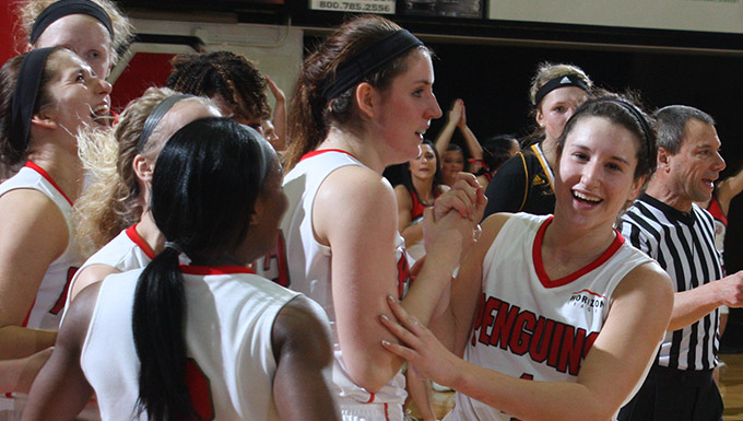 Kelsea Newman's basket at the horn lifted YSU to a 69-67 victory over Milwaukee