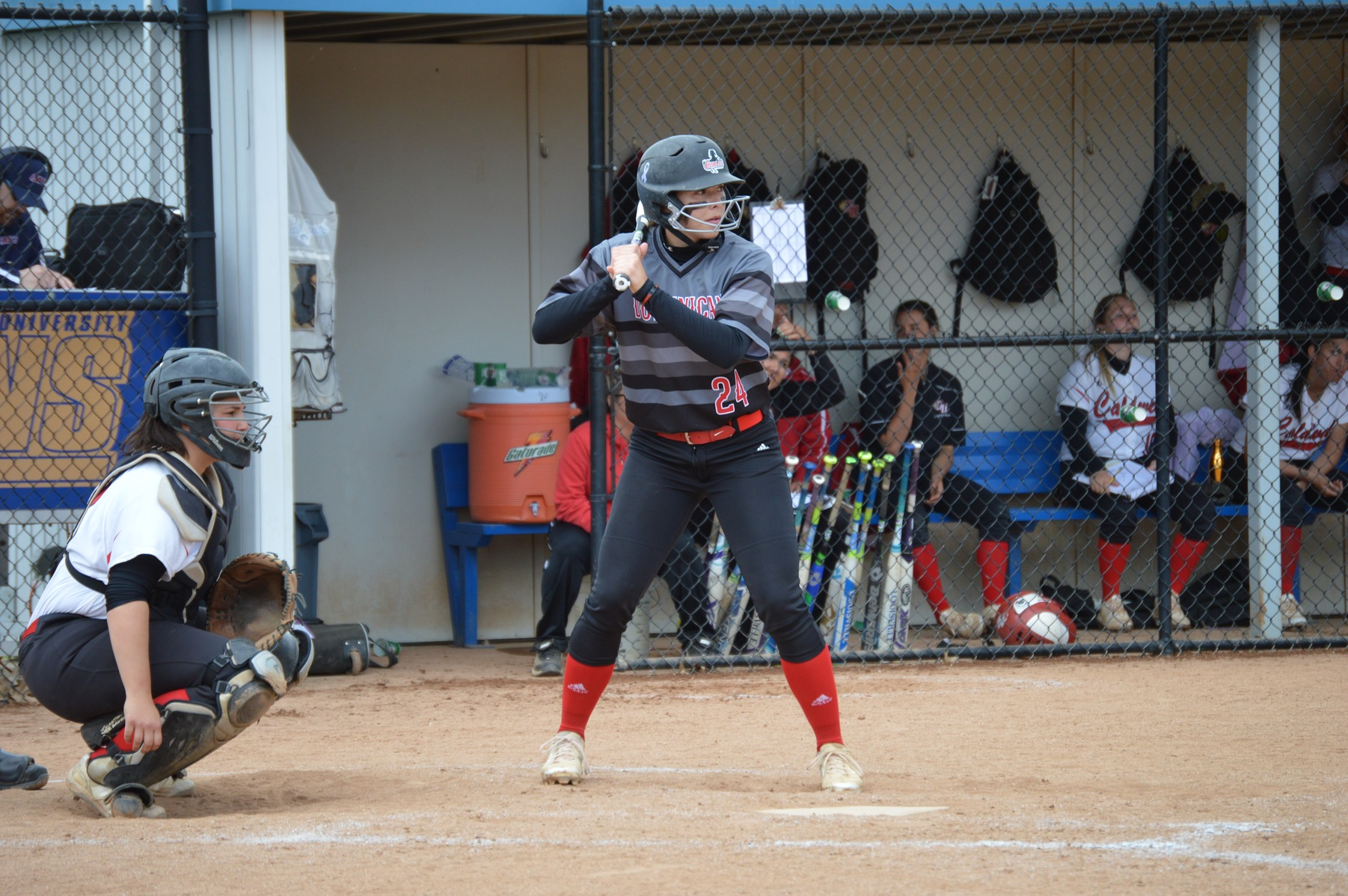LADY CHARGERS SWEEP DH OVER AMERICAN INTERNATIONAL COLLEGE TO IMPROVE TO 3-5