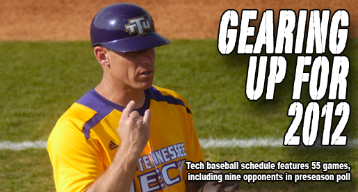 Ranked opponents, 30 home games featured in 2012 Tech baseball schedule