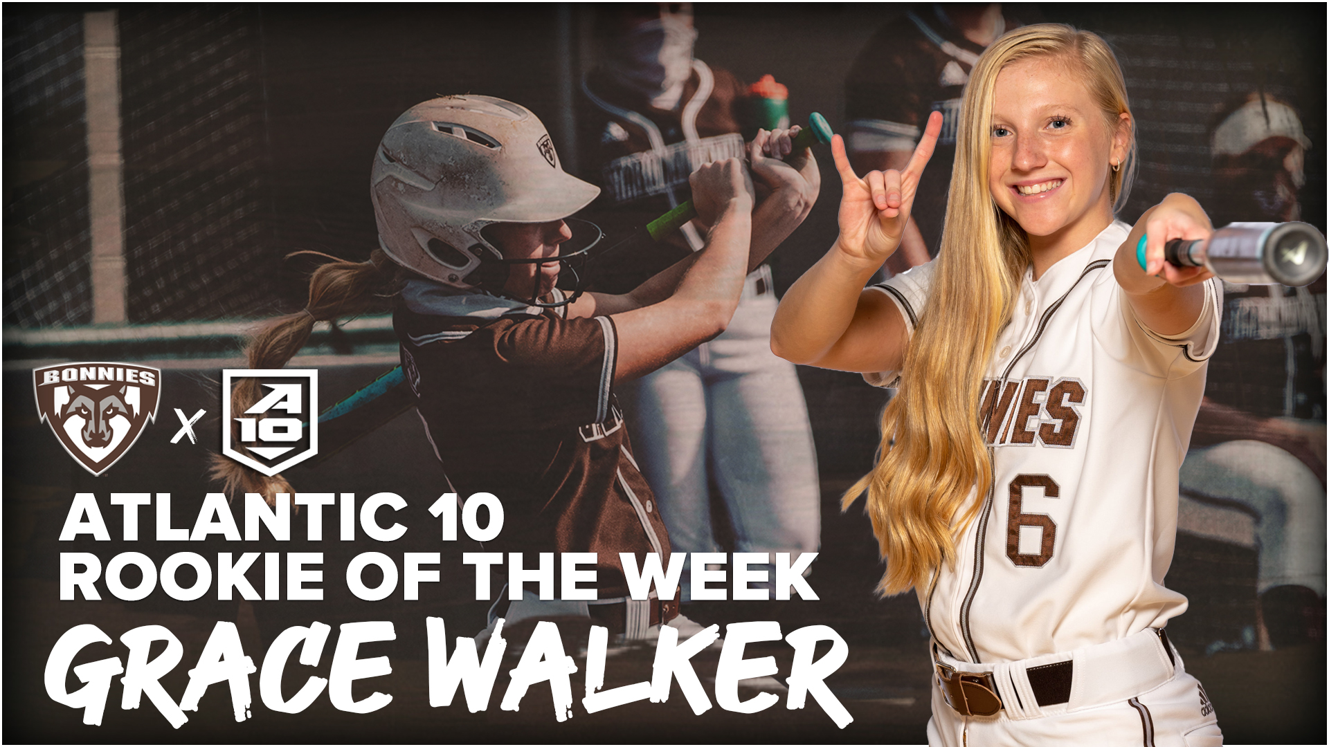 Walker Earns A-10 Rookie Of The Week Honors