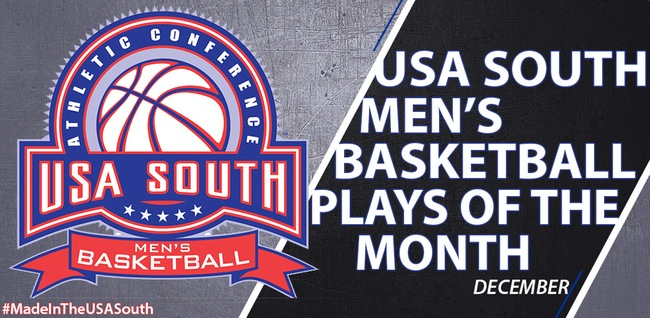 Bishop Men Featured on USA South's Top Plays of December