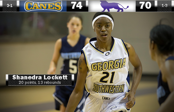 Lockett's Double-Double Carries GSW Past Paine