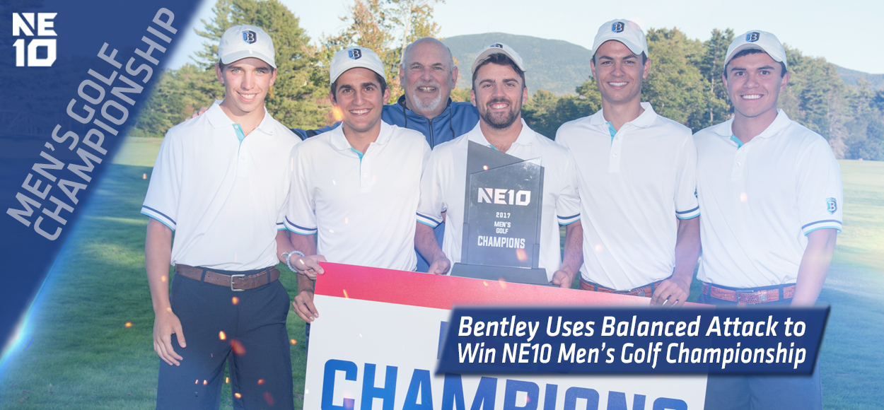 Embrace The Championship: Falcons Hold on During Day Two to Claim NE10 Men's Golf Title