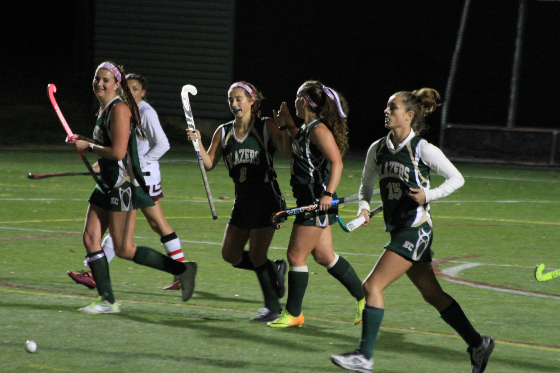 Field Hockey Upends Bay Path