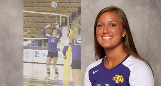 Culp named captain for 2010 Golden Eagle volleyball squad
