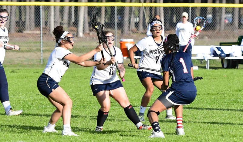Piedmont, Brevard Down Bishops in Women's Lacrosse Action