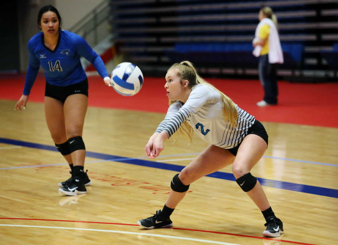 Reivers fall in 5-set marathon to Mineral Area; will play for 7th.