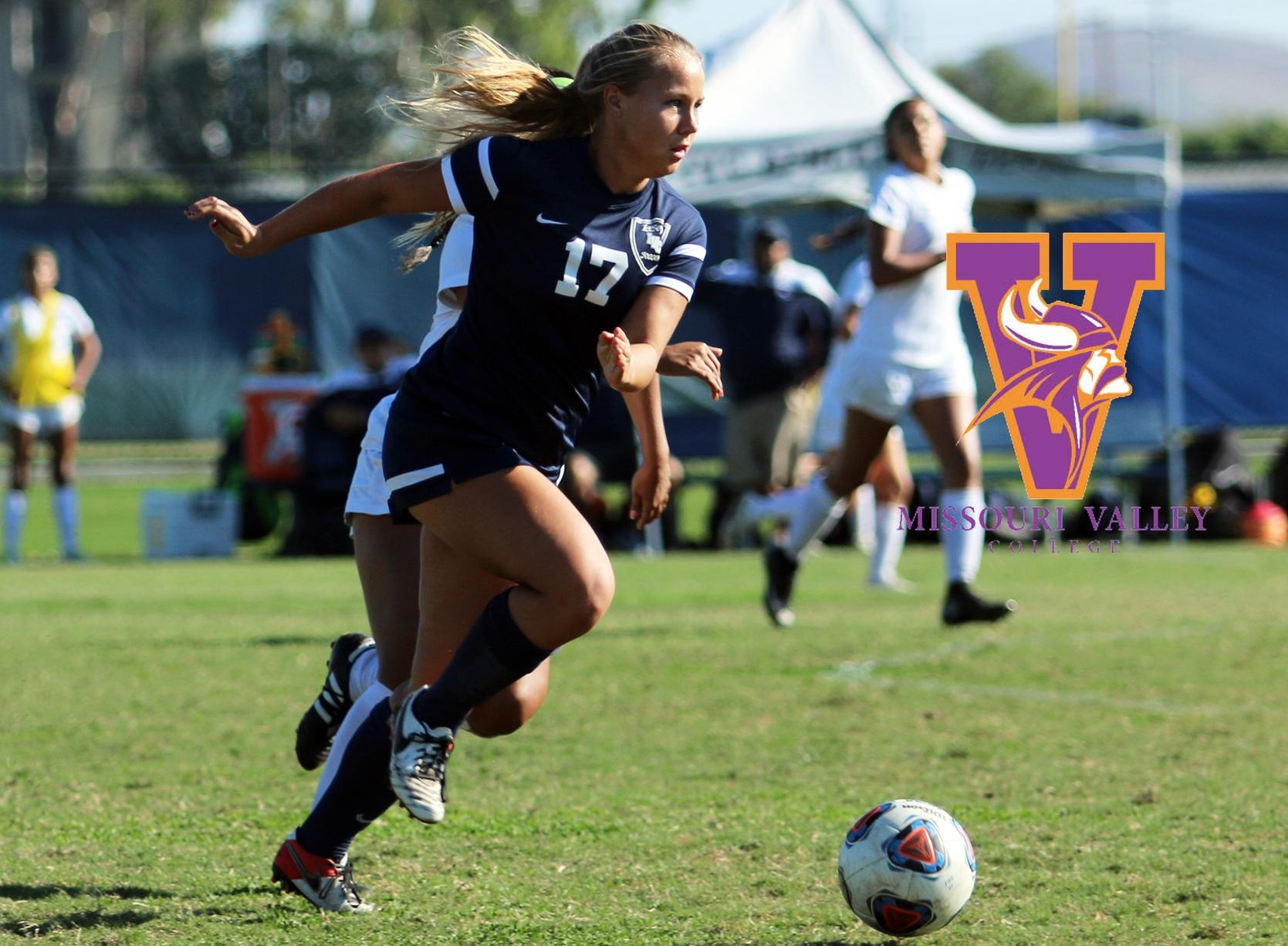 Soccer player Payton Purcell headed to Missouri Valley