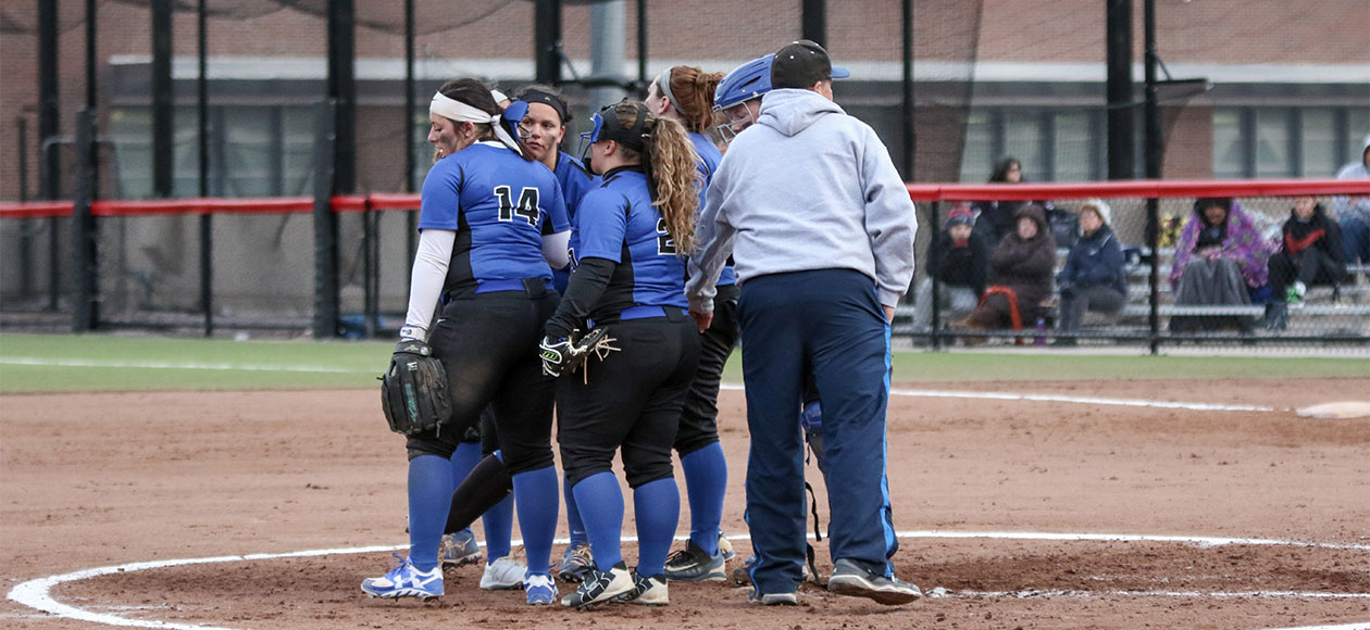 Softball ends season with loss to Bay Path in NECC Playoffs