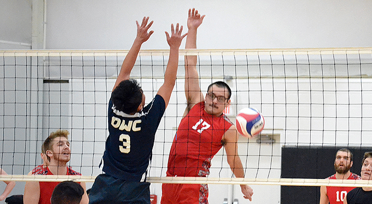 Two Wins For Men's Volleyball In The Big Apple