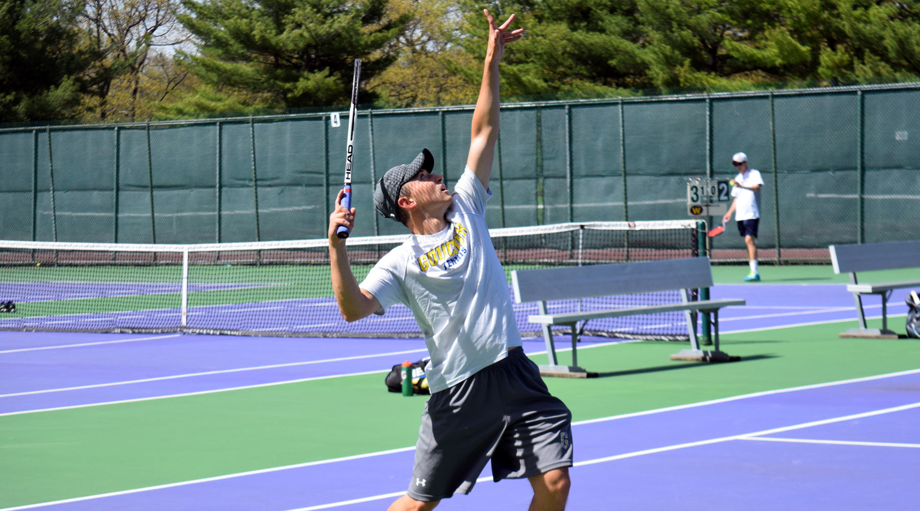 Men's Tennis Rolls Past Messiah, 5-0, in NCAA Championship First Round
