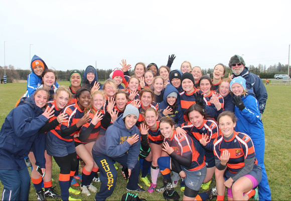 Women's Rugby Marched All the Way to the National Semifinals