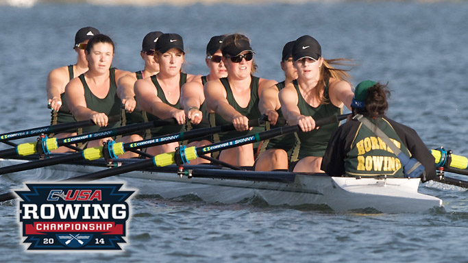 ROWING FINISHES 6TH OUT OF 11 SCHOOLS AT CONFERENCE USA CHAMPIONSHIPS