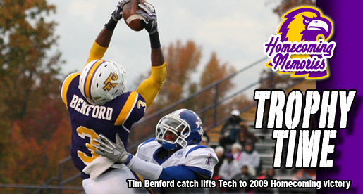 Homecoming Memories: Tech clinches Sgt. York Trophy in '09 win over Tigers