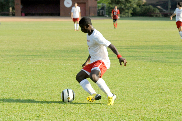 Huntingdon men's soccer drops game at Toccoa Falls