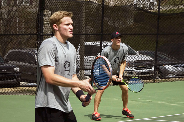 Men's Tennis: Panthers split matches with Birmingham-Southern and Centenary