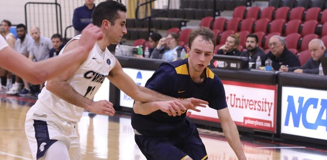 Men's Basketball Suffers Late 66-63 Setback To Scranton