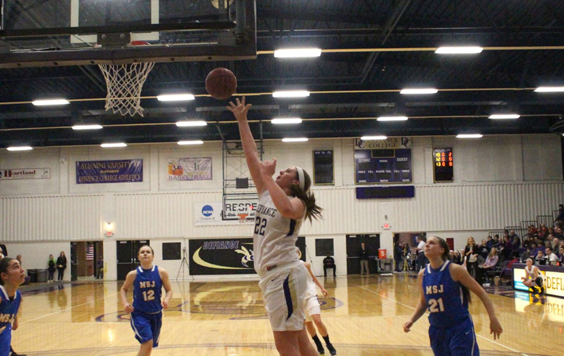 Turnover Troubles Haunt DC in Road Loss to MSJ