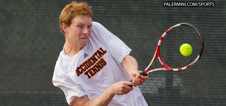 Oxy men's tennis wins second in a row