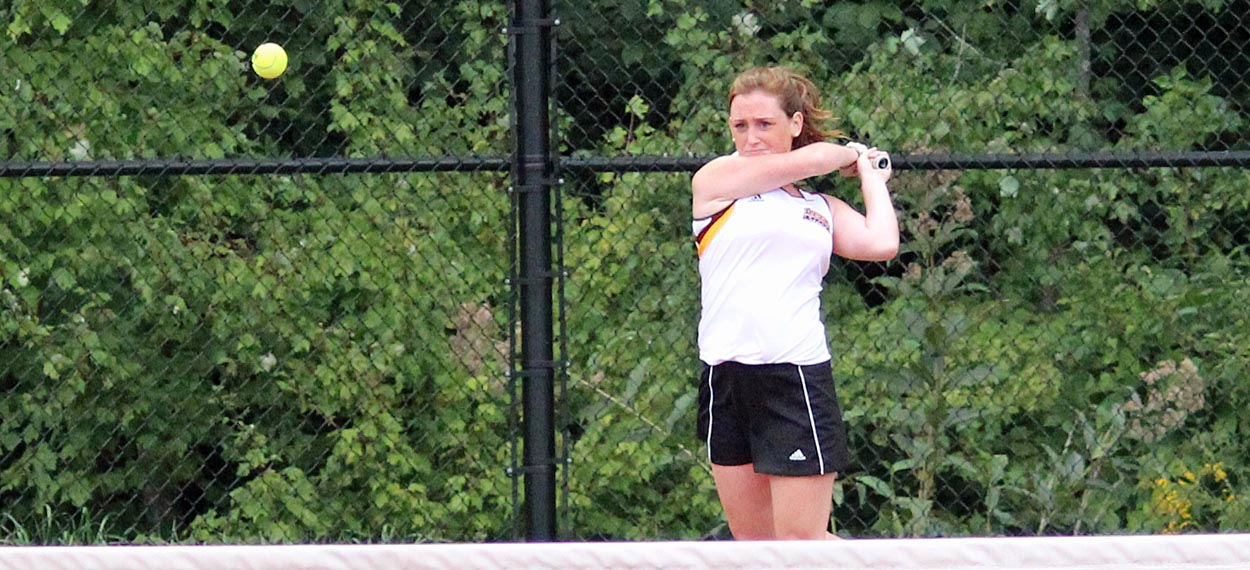 Women's Tennis Suffers First Loss, 8-1 To JWU