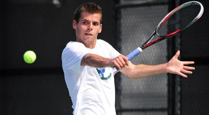 GC Men's Tennis' Hass Named PBC Player of the Week