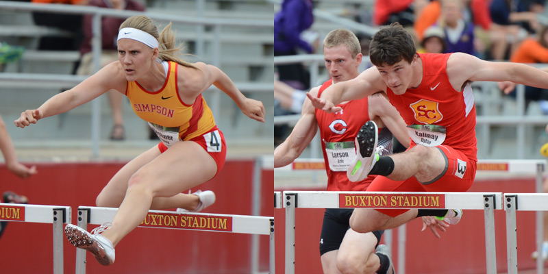 Fleshner, Kalinay post career bests at last chance meet