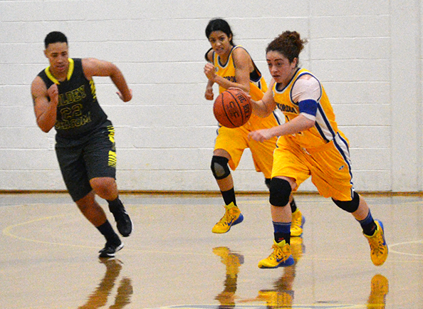 Concordia Women's Basketball Defeats Goldey-Beacom, 70-66, in a CACC Game