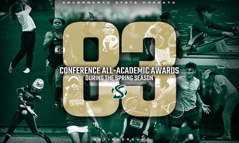 HORNET STUDENT-ATHLETES EARN 83 SPRING ALL-ACADEMIC HONORS