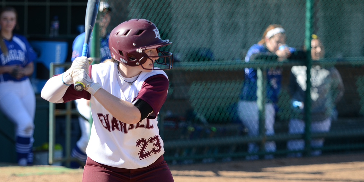 Big Offensive Day Helps Evangel Softball Earn Sweep at Missouri Valley