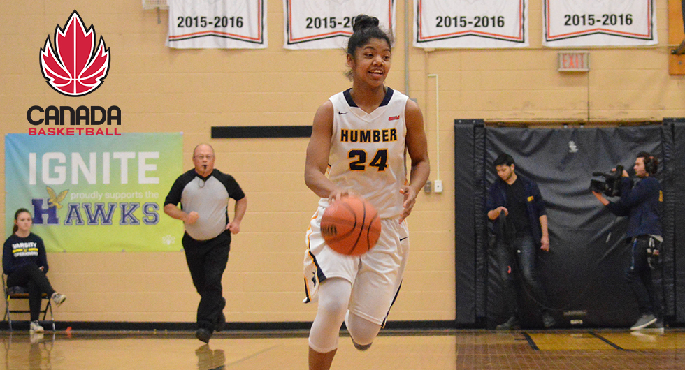 HUMBER'S CEEJAY NOFUENTE NAMED TO DEVELOPMENT WOMEN'S NATIONAL TEAM