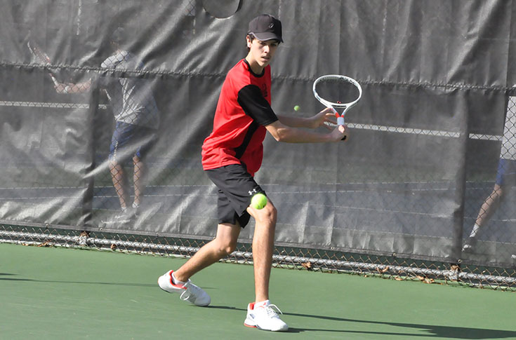 Men's Tennis: Panthers beat Huntingdon 8-1 to pick up first USA South win