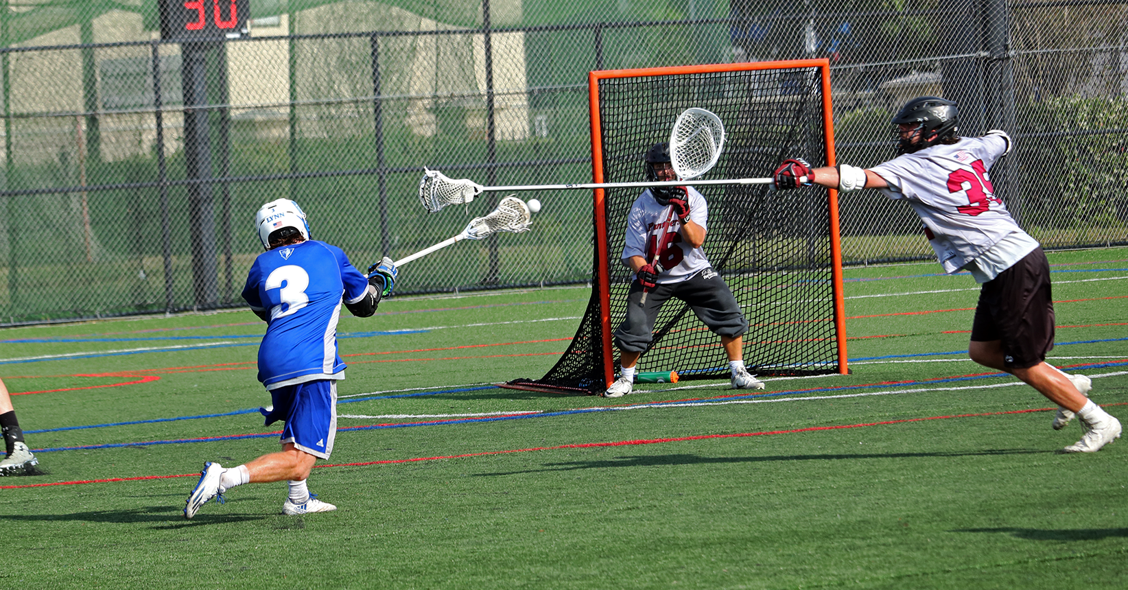Lacrosse Ousted in SSC Semifinals