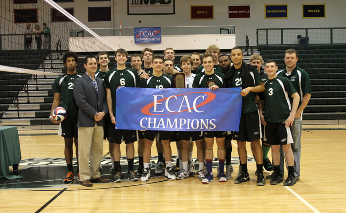 Mustangs Win Second ECAC Title in Last Three Years, Jacoby Named MOP