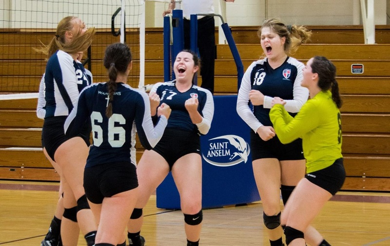 Women's Volleyball Secures First Win of the Season