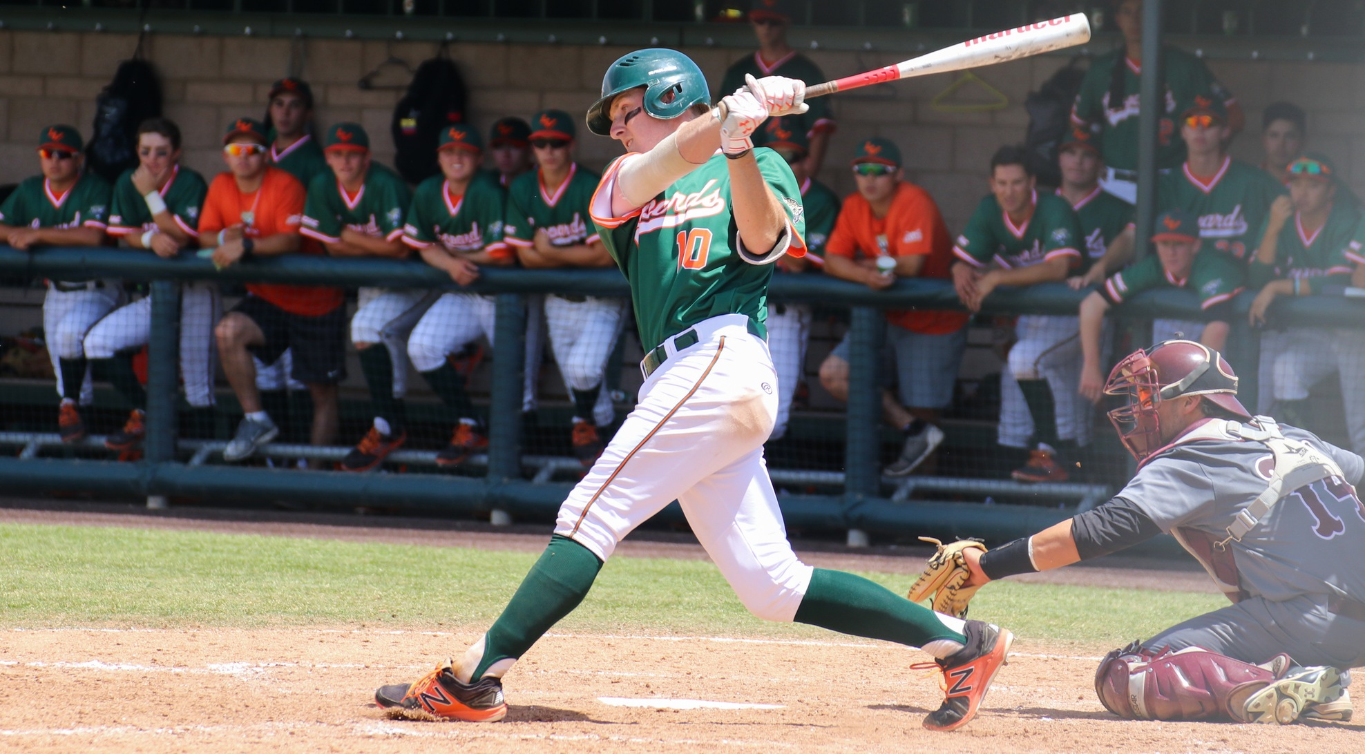 Baseball falls twice, eliminated from SCIAC Tournament