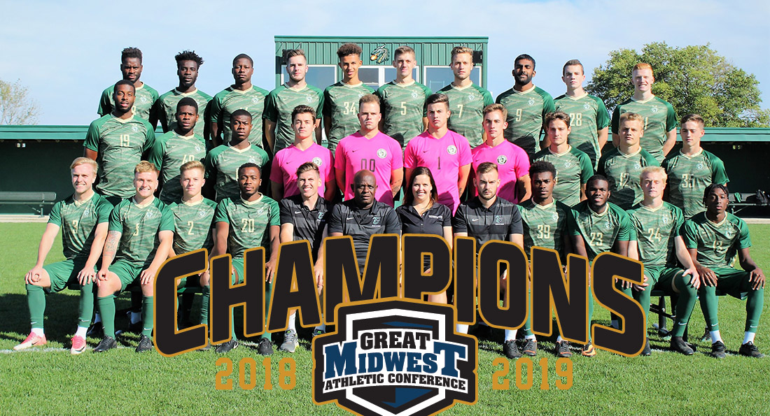 Tiffin University won the 2018-19 G-MAC Championship after their 4-0 win over Findlay.