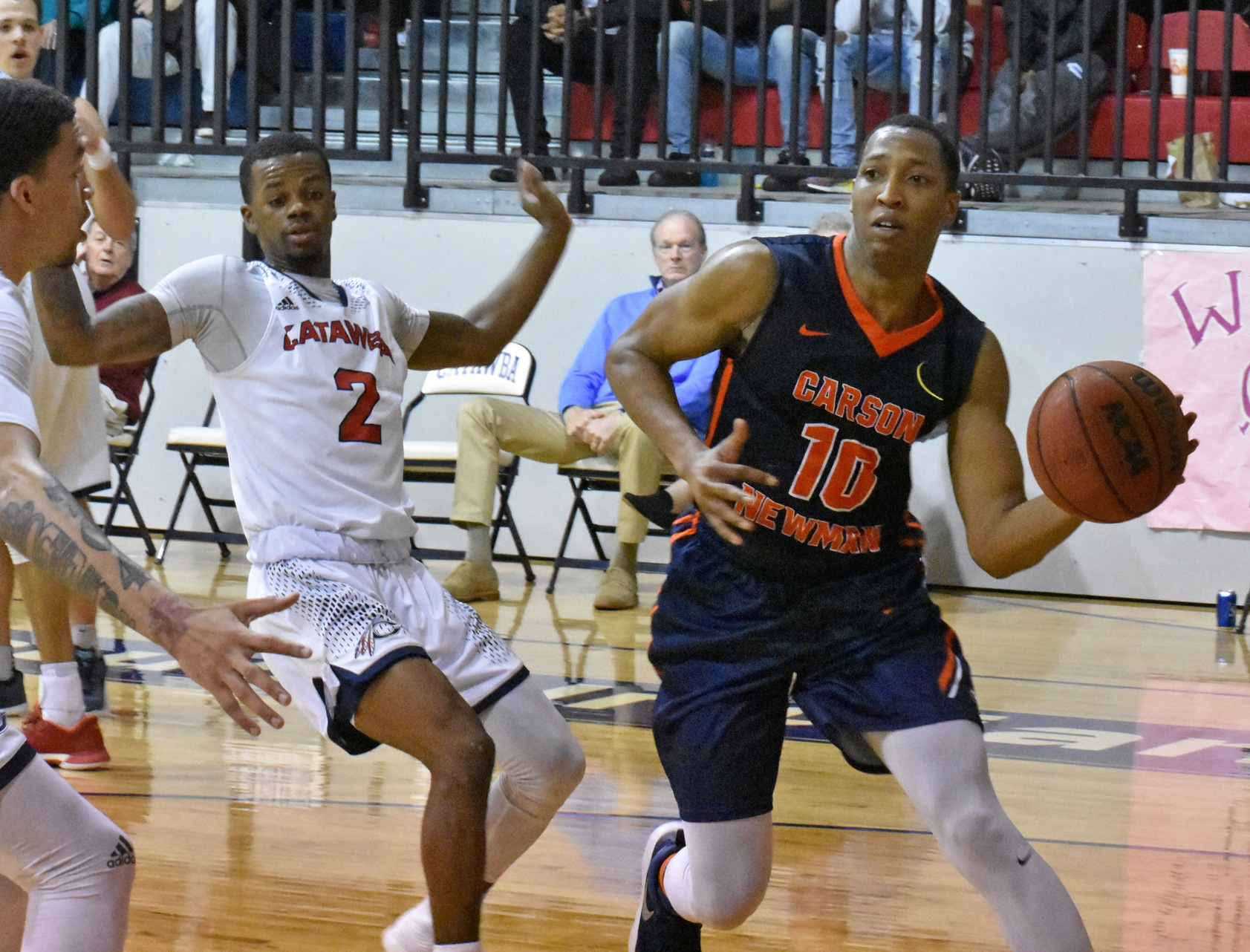 Staunch second half sends C-N soaring over Catawba 104-89