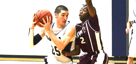 Men's Basketball unable to tame Trinity, suffers 76-46 loss in battle of SCAC undefeateds