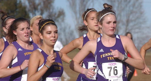 Women sixth, men place seventh in OVC Championships